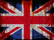 UK Flag 5 by Steve Ball