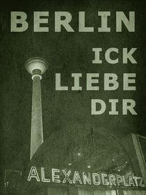 BERLIN LIEBE - grün von crazyneopop