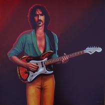 Frank Zappa painting von Paul Meijering