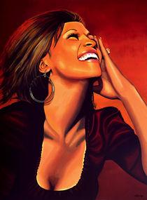 Whitney-houston-painting