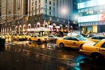 New York City Cabs by tfotodesign