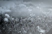 Foggy Hong Kong by JACINTO TEE
