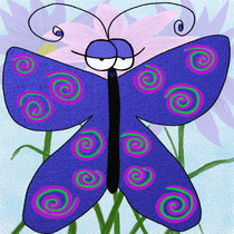 The Butterfly With An Attitude von Michelle Brenmark