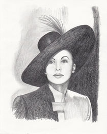 Ava Gardner Portrait by Brandy House