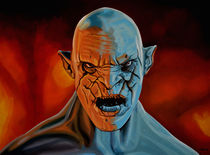 Azog The Orc by Paul Meijering