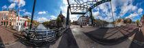 Niederlande, Leiden: Marebrug von Ernst  Michalek