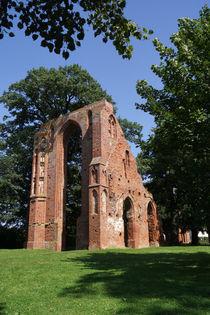 Klosterruine Eldena, Ruins Monastery of Eldena by Sabine Radtke