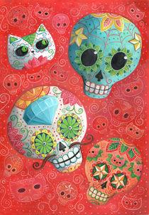 Mexican Sugar Skulls von Monika Suska