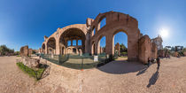 Italien, Rom: Maxentiusbasilika von Ernst  Michalek
