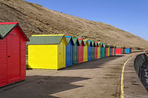 Beach Chalets, Whitby by Rod Johnson