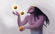 Juggler by nechoart