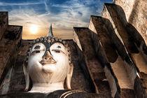 Buddha Phra Achana At Wat Si Chum Temple Thailand von perfectlazybones