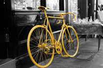 Yellow Bike von tfotodesign