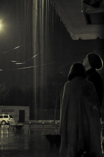 Rainy night by Dana Marza