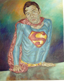 Super Man under the effect o Kryptonite by Nuno Quaresma