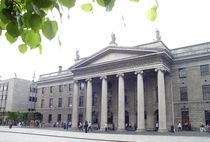 Dublin Ireland, O'Connell St & GPO by irish-prints