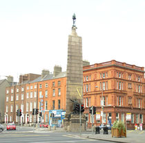 Parnell Monument, Dublin Ireland by irish-prints