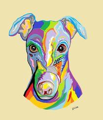Greyhound by eloiseart