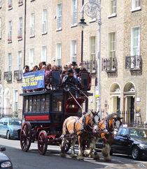 Horse Tram, Mount St. Dublin Ireland by irish-prints