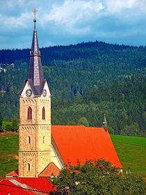 Die Kirche von Reichenau I | Architekturfotografie von Patrick Jobst