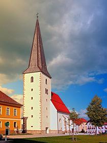 Die Kirche von Schenkenfelden III | Architekturfotografie von Patrick Jobst