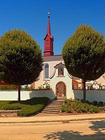 Die Friedhofskirche von Schlägl III | Architekturfotografie von Patrick Jobst
