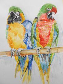 Papageien von Maria Földy