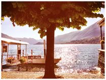 Idyllic lake view by marcimarc