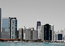 Chicago Lakefront in Summer by Jim Plaxco