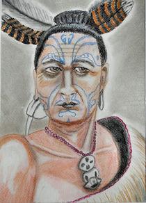 Maori-Krieger by Kirsten Aust