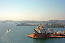 Sydney Opera House from Harbour Bridge by Jörg Sobottka