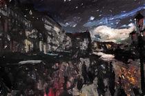 Venice Street Scene by Galen Valle