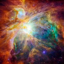 The cosmic cloud called Orion Nebula by creativemarc