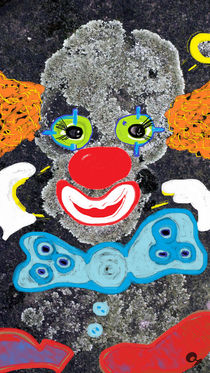 Clown aus Flechten von Sascha Kolek
