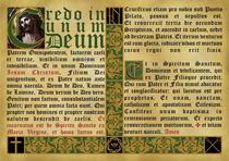 Credo in Unum Deum von Alaister Lim
