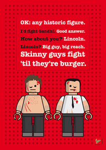My-fight-club-lego-dialogue-poster