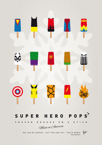 My SUPERHERO ICE POP - UNIVERS von chungkong