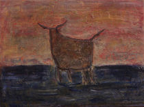 Stier I by Angela Dieckmann