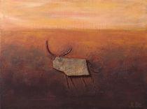 Stier II by Angela Dieckmann