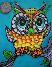 Little-owl-by-laura-barbosa