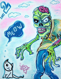 My Pet Zombie #2 - Here Kitty Kitty by Laura Barbosa