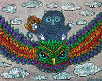 Rainbow-owl-ride-by-laura-barbosa