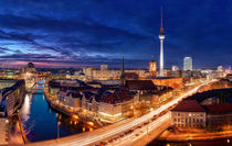 Berlin City Lights by Marcus  Klepper