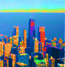 Downtown Chicago Reimagined by Jim Plaxco