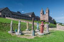 Abtei St. Hildegardis-Westseite neu by Erhard Hess