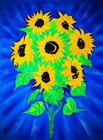 Sonnenblumen by Walter Zettl