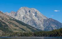Mt Moran At The Grand Tetons von John Bailey