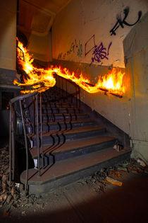 Die Feuertreppe von Dennis Stracke