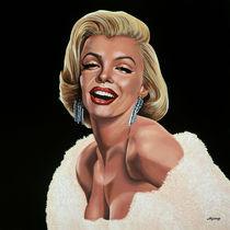 Marilyn Monroe painting 1 von Paul Meijering