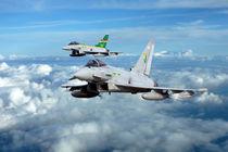 3 Squadron Typhoons by James Biggadike